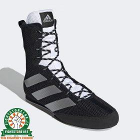 Adidas Box Hog 3 Tokyo Boxing Boots - Black/Silver