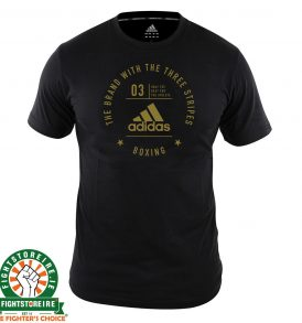 Adidas Boxing T-Shirt Black/Gold