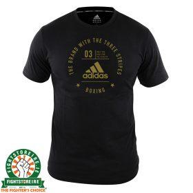 Adidas Boxing T-Shirt Black/Gold