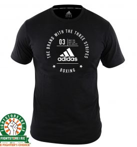 Adidas Boxing T-Shirt Black/White
