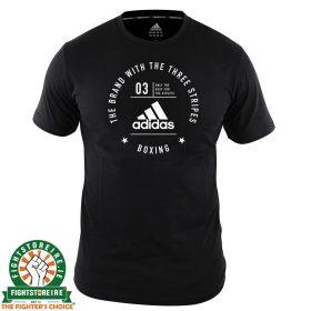 Adidas Boxing T-Shirt Black/White