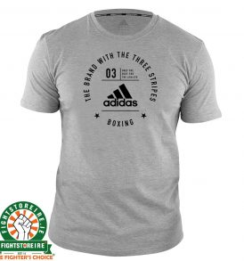 Adidas Boxing T-Shirt Grey/Black