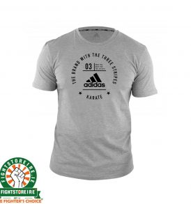 Adidas Karate T-Shirt - Grey