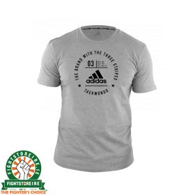 Adidas Taekwondo T-Shirt - Grey