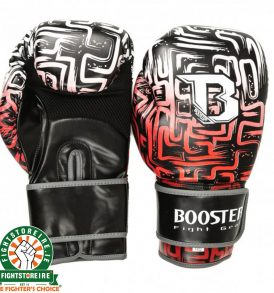 Booster Labyrint Thai Boxing Gloves - Red