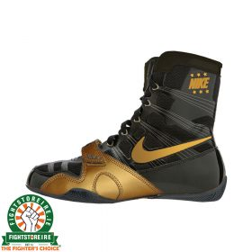 Nike Hyper KO Limited Edition Boxing Boots - Black/Gold | Fightstore IRE