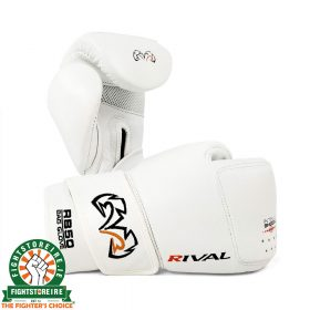 Rival RB50 Intelli-Shock Compact Bag Gloves - White