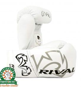 Rival RFX-Guerrero Pro Fight Gloves - HDE-F - White