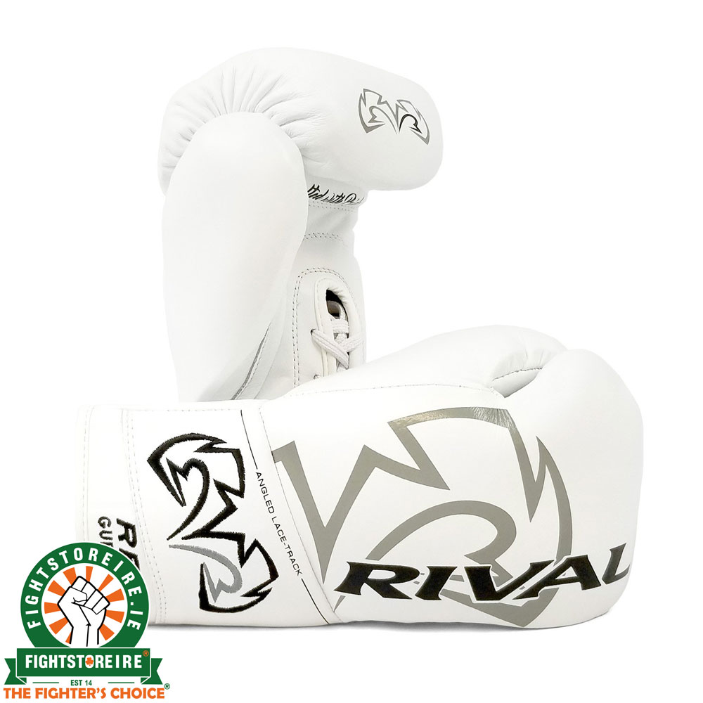 Rival RFX-Guerrero Pro Fight Gloves - HDE-F - White