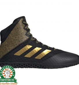 Adidas Mat Wizard Hype Wrestling Boots - Black/Gold
