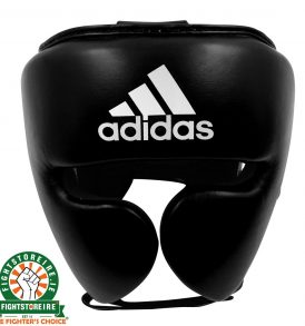 Adidas adiStar Pro Head Guard - Black/White | Fightstore IRELAND