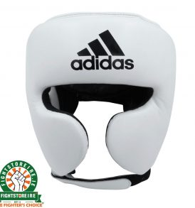 Adidas adiStar Pro Head Guard - White/Black | Fightstore IRELAND