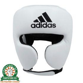 Adidas adiStar Pro Head Guard - White/Black | Fightstore IRELAND