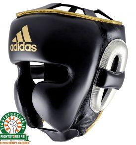 Adidas adiStar Pro Headguard Metallic - Black/Gold