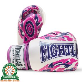 Fightlab Essence Of Thai Muay Thai Gloves - Purple | Fightstore IRE