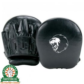 Super Pro Combat Gear Leather Focus Mitts