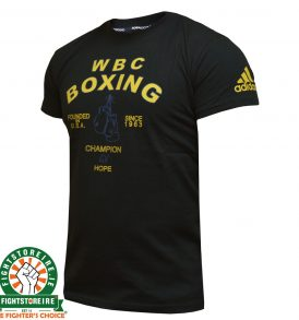 Adidas WBC Boxing T-Shirt - Black