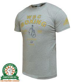 Adidas WBC Boxing T-Shirt - Grey