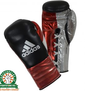 Adidas adiStar BBBC Approved Pro Boxing Gloves - Black/Red