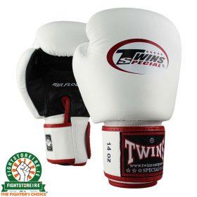 Twins Special BGVL 3 AIR Thai Boxing Gloves - White/Black