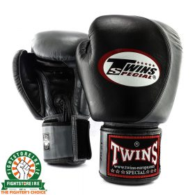 Twins Special BGVL 9 Thai Boxing Gloves - Black