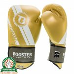 Booster V3 EMPEROR Edition Thai Boxing Gloves - Gold