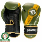 Booster V3 New Thai Boxing Gloves - Black/Green