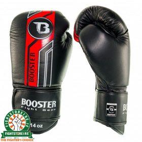 Booster V9 Thai Boxing Gloves - Black/Red