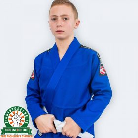 Valor Kids Bravura Bjj Gi - Blue