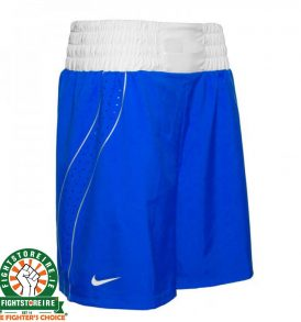Nike Competition Boxing Shorts - Blue