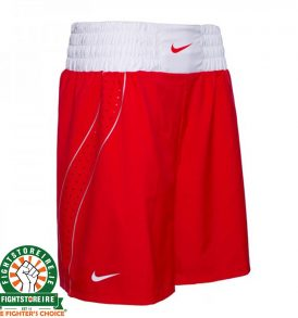Nike Competition Boxing Shorts - Red