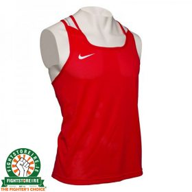 Nike Competition Boxing Vest - Red