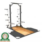 RAZE Black Series Half Rack Integrated Platform