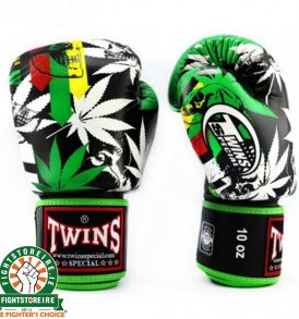 Twins Fantasy 3 Thai Boxing Gloves - Grass
