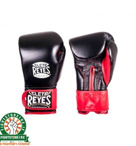 Cleto Reyes Sparring Gloves with Extra Padding - Black