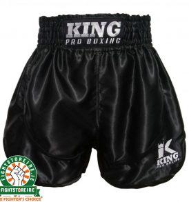King Boxing Trunks - Black