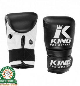 King Pro Boxing Bag Mitts - Black