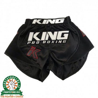 King Pro Boxing X1 Muay Thai Shorts - Black