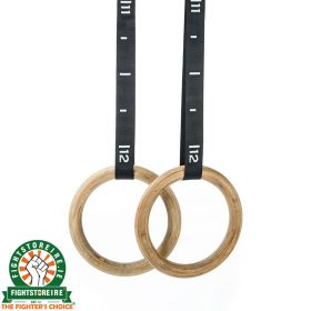 RAZE Wooden Gymnastic Rings