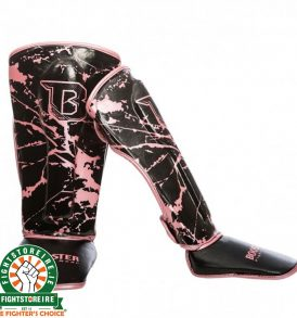 Booster Marble Pink Kids Shinguards