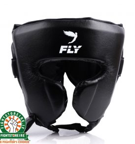 Fly Knight X Cheek Headguard - Black