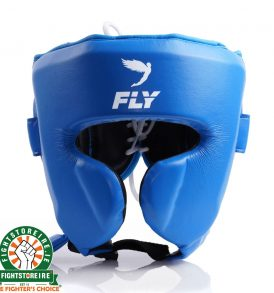 Fly Knight X Cheek Headguard - Blue
