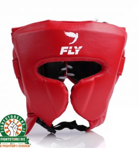 Fly Knight X Cheek Headguard - Red