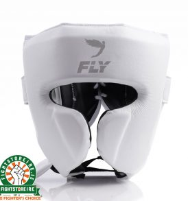 Fly Knight X Cheek Headguard - White