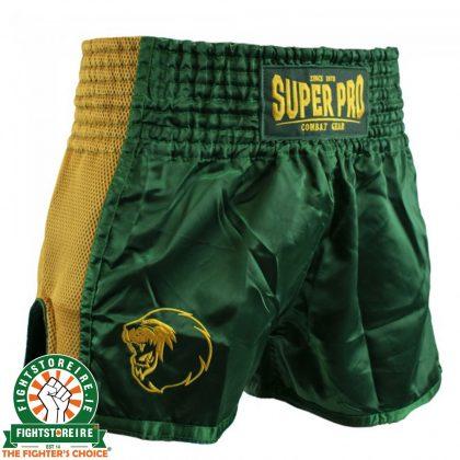 Super Pro Brave Thai Boxing Short - Green