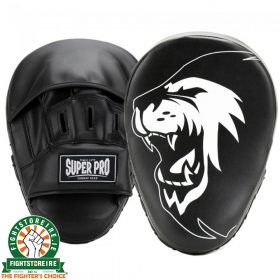 Super Pro Combat Gear PU Curved Punch Mitts