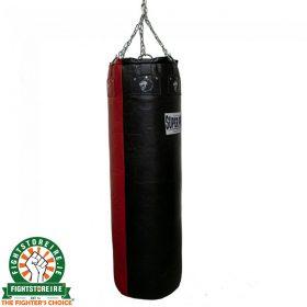 Super Pro Gigantor Punch Bag 4.5ft - Black/Red