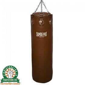 Super Pro Gigantor Punch Bag 4.5ft - Brown