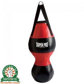 Super Pro Uppercut Bag - Black/Red