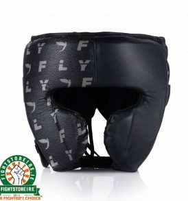 Fly KNIGHT Cheek Head Guard - Black/Fly Print